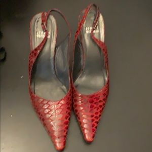 Stuart Weizmann slingback heels